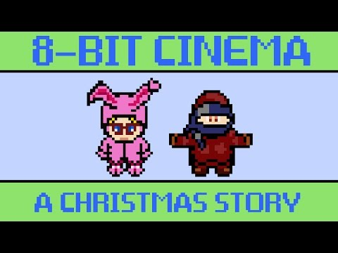 A Christmas Story 8 Bit Cinema