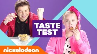Video JoJo Siwa, Jack Griffo & Ricardo Hurtado Try 'Global Snack 🇮🇹 Taste Test 🇰🇷' | #NickStarsIRL MP3, 3GP, MP4, WEBM, AVI, FLV Oktober 2018