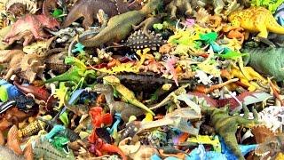 Video 500 toy dinosaurs stacked - 500+ Dinosaur collection toys - Jurassic World Lego MP3, 3GP, MP4, WEBM, AVI, FLV Maret 2018