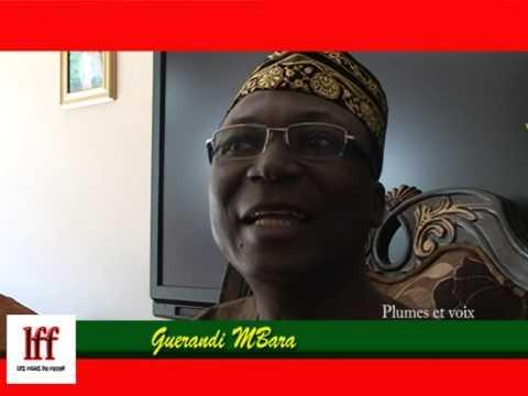 L'entretien de Guerandi Mbara lors de la recnontre