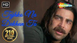 Video Tujhko Na Dekhun To Dil Ghabrata - Jaanwar Songs HD - Akshay Kumar - Udit Narayan - Gold songs MP3, 3GP, MP4, WEBM, AVI, FLV Agustus 2018