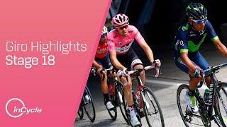 Giro d'Italia: Stage 18 - Highlights