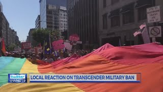 Community members weigh in on Trump's transgender military ban.