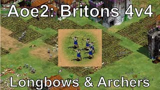 "Is winning games as simple as making Britons Longbowmen? What if you build 8 castles? In this Age of Empires II online multiplayer gameplay, Resonance22 plays as the Britons civilization on the special map Border Stones in the Rise of the Rajas expansion. This is yet another example of how making the right units for the situation lets you take on multiple players at the same time. Rise of the Rajas New Civilization Overviews:https://www.youtube.com/playlist?list=PLOZFzqxtvtxeqZcAKU1HZqafuVctkPLGnWatch me stream these matches live at: http://www.twitch.tv/resonance22Follow me on Facebook: https://www.facebook.com/Resonance22Follow me on Twitter: https://twitter.com/Resonance22Civilizations: Britons, Malians, Incas, Huns, Aztecs, Mayans, SpanishMap: Border Stones, Special MapStrategy: Britons Longbows, Archers, ChampionsGame Type: 4v4, Random Map, Online Multiplayer GameExpert Rise of the Rajas & African Kingdoms Gameplay:https://www.youtube.com/playlist?list=PLOZFzqxtvtxexvGoicKtHauNgPWC_o1DQDate Recorded: July 1, 2017""Twice the Spanish, double the fall"" - Count Dooku 2017My Steam Workshop Mods:Terrain Texture Pack: http://steamcommunity.com/sharedfiles/filedetails/?id=140025354Mike's Farm Textures: http://steamcommunity.com/sharedfiles/filedetails/?id=478802899Pussywood for HD: http://steamcommunity.com/sharedfiles/filedetails/?id=549369672Tetsuo's Cliff Textures: http://steamcommunity.com/sharedfiles/filedetails/?id=144402235My Custom AI: http://steamcommunity.com/sharedfiles/filedetails/?id=473358292Legal: All of the music used in this video is from the official soundtrack to Age of Empires II: HD Edition, and comes packaged with the game. The game is available to be purchased at the following link: http://store.steampowered.com/app/221380/Age of Empires II © Microsoft Corporation. This video was created under Microsoft's ""Game Content Usage Rules"" using assets from Age of Empires"