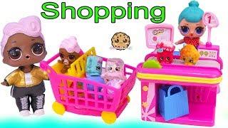 Video LOL Surprise Dolls Shopping At Shopkins Store + Surprise Blind Bags MP3, 3GP, MP4, WEBM, AVI, FLV Desember 2018