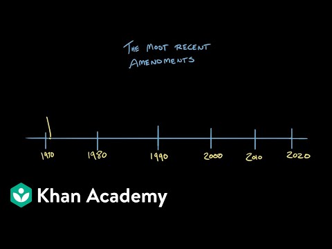 Article V Of The Constitution Video Khan Academy