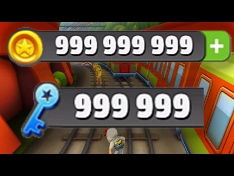 Subway Surfers Hack - Unlimited Coins & Keys for Subway Surfers Hack 2017 (видео)