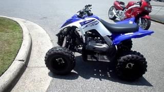 9. 2018 - Yamaha  Raptor 90