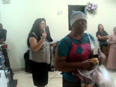 mendinga entra na unção em igreja evangélica - parte 3