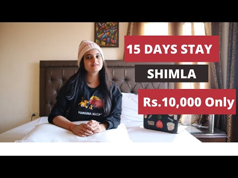 15 Days Stay in Shimla at JUST RS.10,000 - MY Homestay Tour, All Questions Answered
