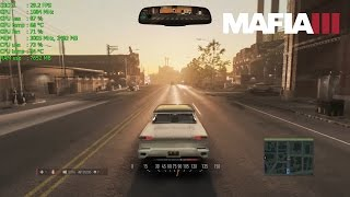 Mafia 3 gameplay test, Medium/Low settings, 1080p, benchmark, frame rate test - FPS at the top left corner (default lock at 30 FPS).The game is not bad (I like the story and open world), but it needs to be better optimized. * after Patch 1.01 around 35-45 FPS (unlimited FPS), but still with a little stuttering  PC:Intel Core i5-2500K CPU @ 3.30 GHzKingston 16.00 GB DDRIII (1333Mhz)Gainward GTX 760 Phantom 4GB GDDR5Samsung 850 EVO SSD 250GBWindows 7 Home Premium 64 bitfull HD 1920x1080recorded with Nvidia ShadowPlay, FRAPS and MSI Afteburner (FPS counter, GPU, CPU, RAM usage, temperature)Nvidia GeForce Driver - 373.06..feel free to comment, like or share :)