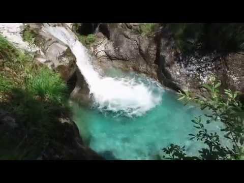 Le acque cristalline della Val Vertova