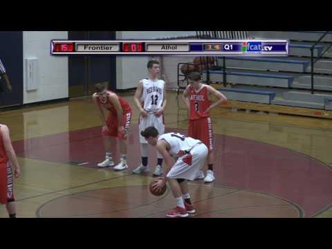 Frontier Regional School Boys Basketball Vs Athol