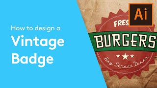 Welcome to this Flat Design Tutorial on how to make a Vintage Badge using Adobe Illustrator. This is part of our Adobe Creative series of design tutorials. P...