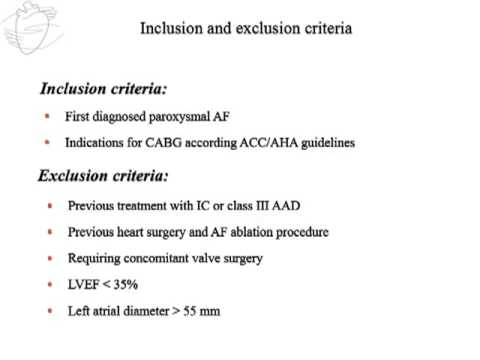 ABLATION OF NEWLY DISCOVERED PAROXYSMAL ATRIAL FIBRILLATION