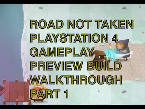 Road Not Taken Playstation 4