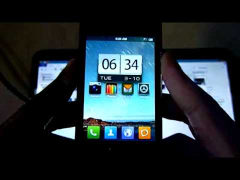Galaxy ace gt-s5830i MIUI RC4 installation and overview