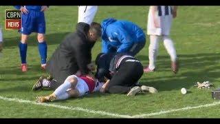 Futbolista muere por un pelotazo en pleno partido