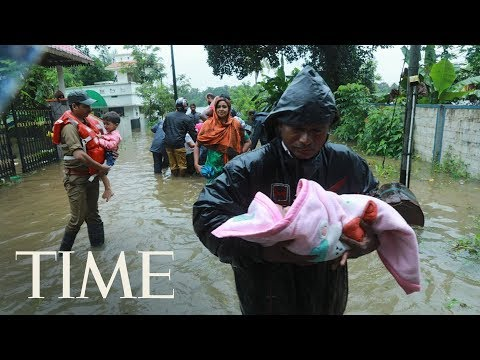 Incessant Rains & Widespread Flooding Devastate The South Indian State Of Kerala, Killing 67 | TIME