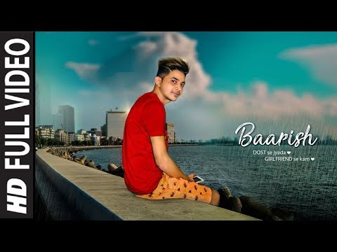 Barish Lyrical Video | Half GIrlfriend |  Baarish Song Lyrics