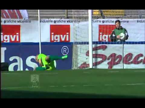 Vicenza vs Grosseto 0-1 All Goals | 10.03.2012 (Serie B)
