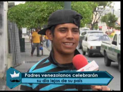 Padres venezolanos celebrarán su día lejos de su país