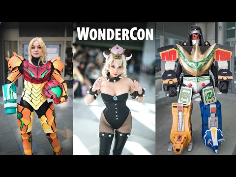 Wondercon 2019 Cosplay Music Video | 1Dx Mark ii
