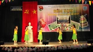 Múa Dân Gian Bức Họa Đồng Quê - CLB Sinh Viên Tình Nguyện Vì Cộng Đồng XQM