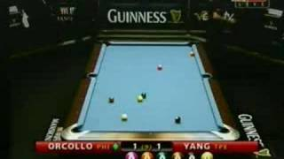 Orcollo Vs. Yang - 2008 Guinness 9-ball Tour
