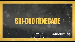 10. 2017 Ski-Doo : The Renegade
