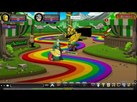 aqw  how to get  leprechaun class 2012