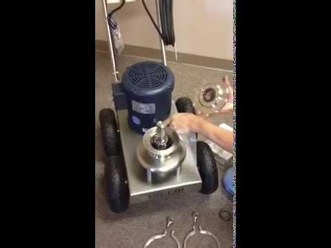 US-FIP flexible impeller wine pump seal change