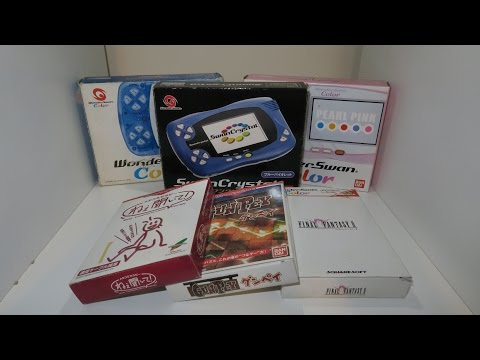 Retro Handheld Extravaganza! - Wonderswan Color & Crystal