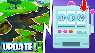*NEW* Fortnite 7.31 Update! | Free Vbucks Event, 7 Earthquake Stages, Console Change!