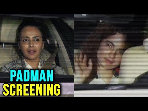 Kangana Ranaut, Swara Bhaskar At Akshay Kumar's Pa