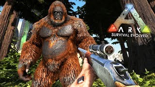 Finding and taming Bigfoot in ARK: Survival Evolved Ragnarok! ARK Survival Evolved gameplay walkthrough episode 12 with...