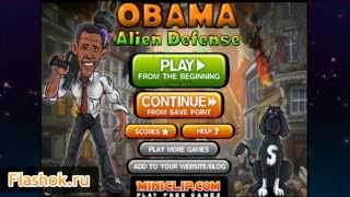 Видеообзор Obama Alien Defense