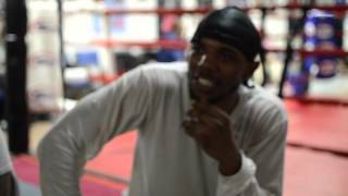 Zack Ramsey (7-0-0, 3 Kos) Getting Ready for his Upcoming Bout.