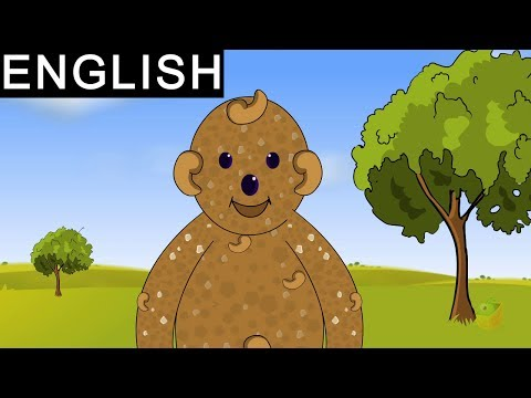 Ginger Bread Man - Fairy Tales In English - Animated / Cartoon Stories For Kids
