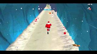 Christmas Santa Run YouTube video