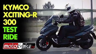 10. Kymco Xciting R 300 Test-ride