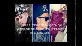 A cambio de nada LETRA Jose Garcia Alexis Chaires ft Fekone