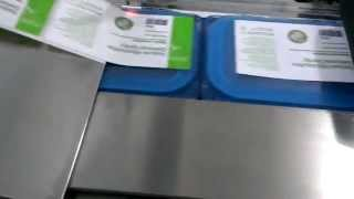 Tabletop Top Labeling Machine - LT-100 youtube video