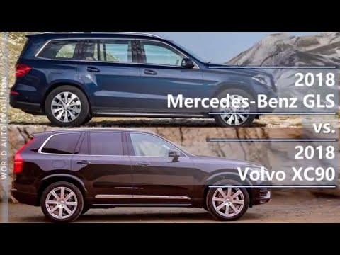 2018 Mercedes GLS vs 2018 Volvo XC90 (technical comparison)
