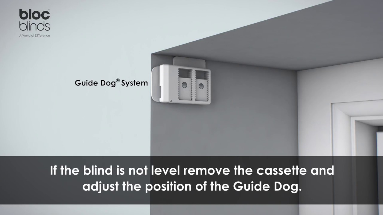 How to install edge of recess mount Blocout Blind