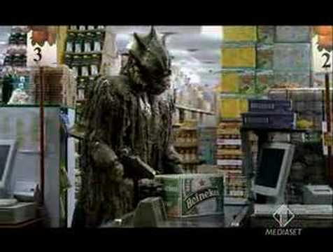 Funny Heineken  Beer Monster Commercial