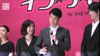 【ゆるコレ】唐沢寿明が舞台挨拶の最後の最後までファンを魅了