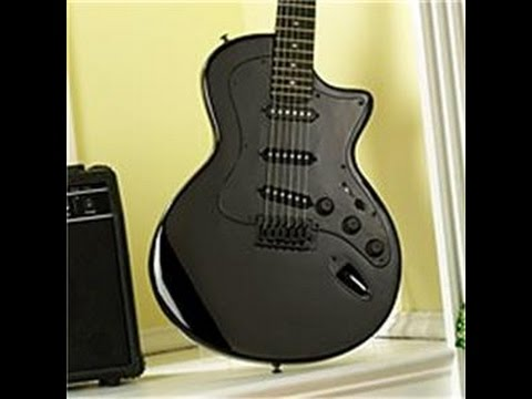 2002 Esteban Midnight Legacy Electric Guitar, Amp Review By Scott Grove