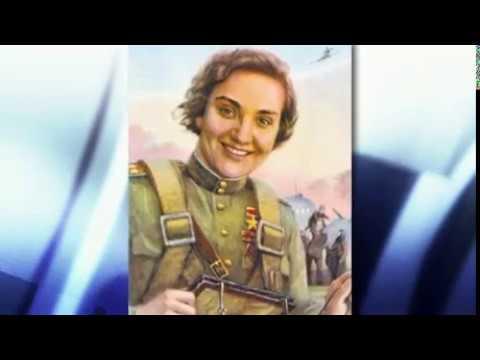 В Пензе установили бюст советской летчицы Валентины Гризодубовой