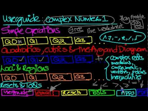 Video of Complex Numbers Practice